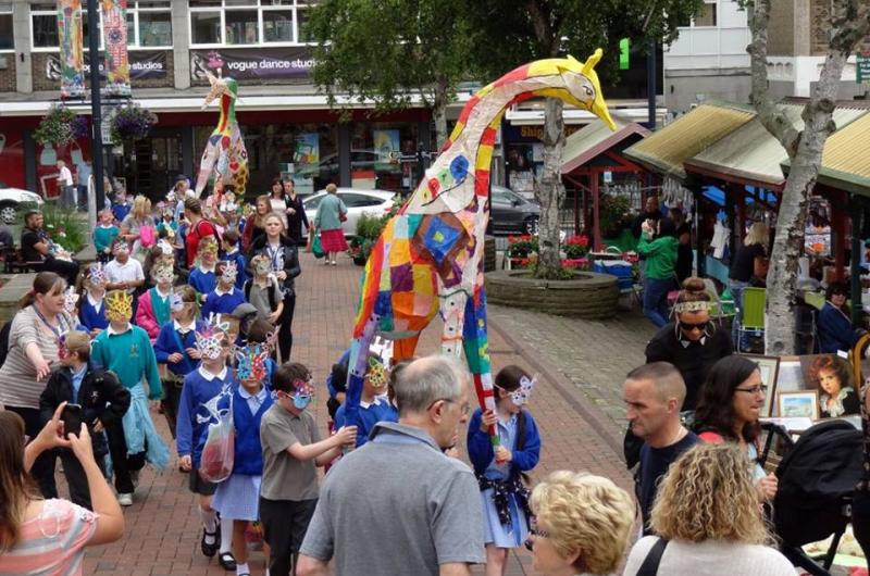One of our greatest strengths is our experience of working with local schools and community groups, so they too can contribute to the carnival parades.