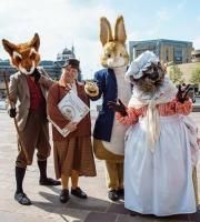 Our brand new show inspired by the tales of Beatrix Potter  was developed for the hugely successful Bradford Literature Festival 2016 - paying tribute to the classic characters of these much loved children's stories, with an appearance from Miss Potter herself!
