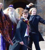 Watch out for the Battle of the Wizards in our Harry Potter-inspired show!