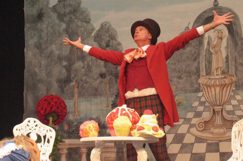 Mad Hatter Show: A crazy, fun filled, mad cap show ... Join Alice and The Mad Hatter in a magical world of Wonder, down the rabbit hole and though the looking glass!