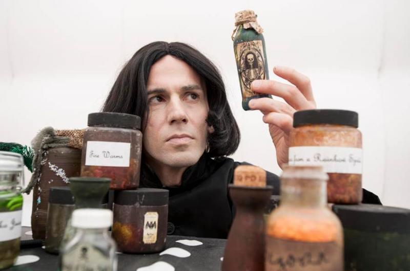 Our Potions class led by our Professor Snape lookalike is sure to cook up something weird and wonderful!