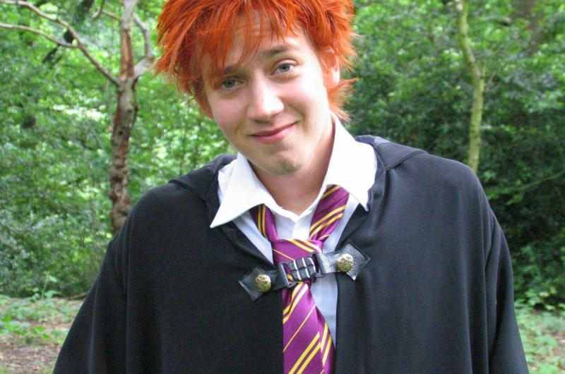 We have lookalike performers for many characters, including Harry's best friend, Ron!