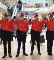 Once again, our Toy Soldiers proved extremely popular all across the country for Black Friday promotions. The soldiers supplied customer service help for shoppers by carrying heavy shopping, providing information and directions, and much more.