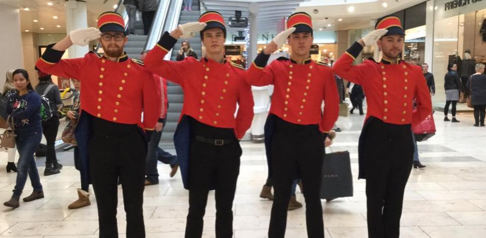 Our Toy Soldiers provide a sense of camaraderie as they help customers with their shopping and hand out promotions. They are an increasingly popular choice across the country.