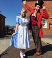 The Mad Hatter Show went on the road - over the Irish Sea for Easter celebrations in Carrickfergus!