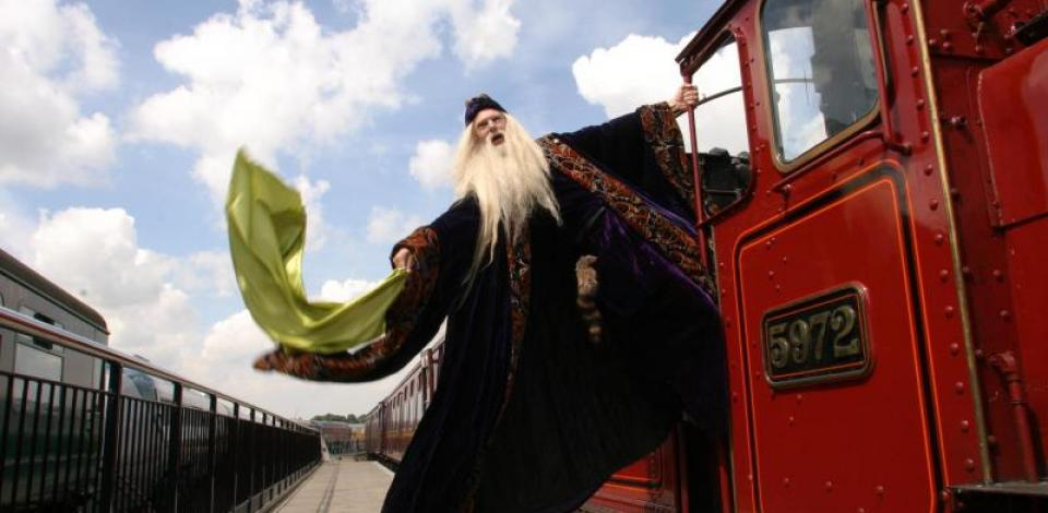 Book a special Halloween wizarding experience!