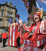We've delivered carnivals to fit every theme imaginable, whether that's a celebration of the Queen's Diamond Jubilee, or Bradford being named as the world's first UNESCO City of Film!