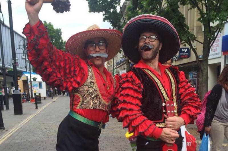Los Romanticos returned in June as part of the DN WeekeND Festival in Doncaster.
